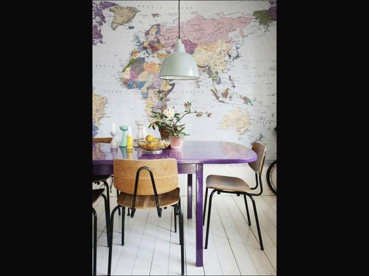 Map Wallpaper Cool designs Pinterest 736x552