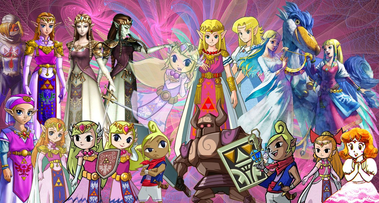 Princess Zelda wallpaper by HystericDesigns 1221x654