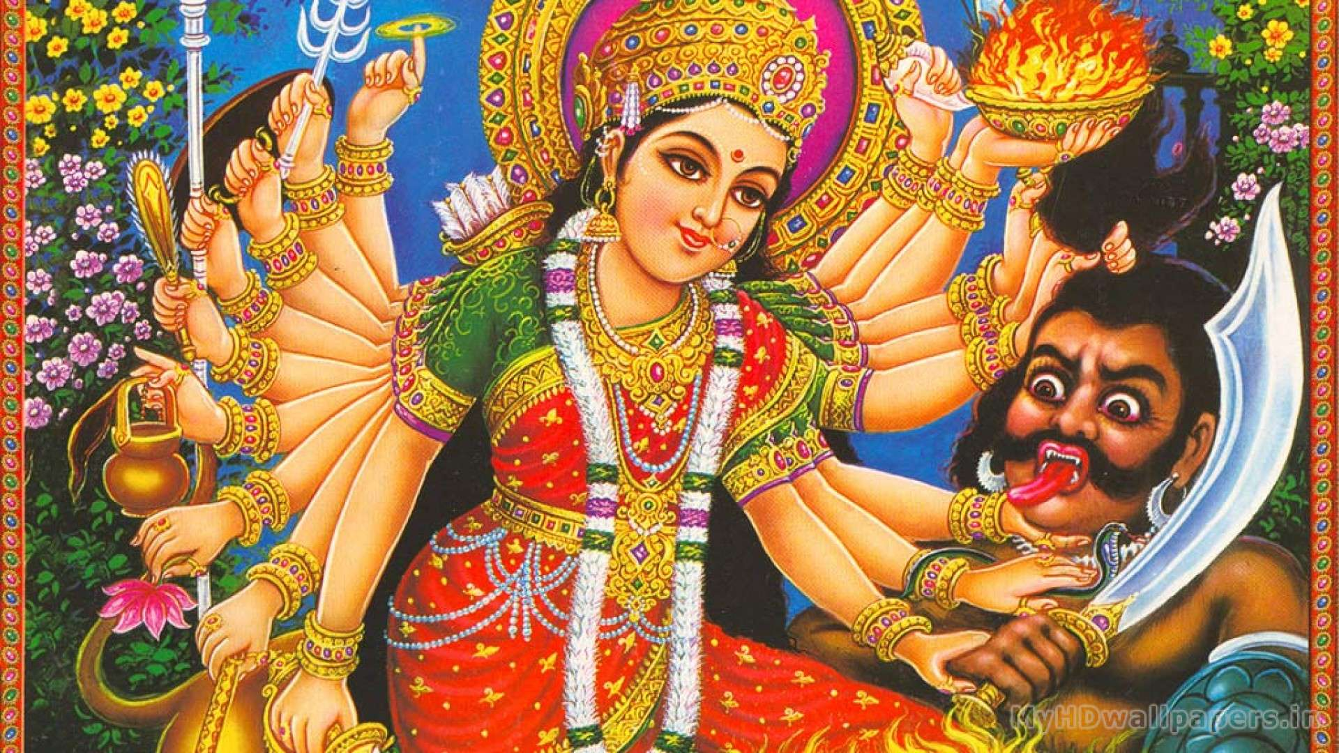Hd Durga Maa Wallpapers Wallpapersafari
