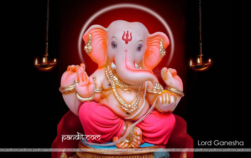 Lord ganesha wallpaper by vastushastra 1024x647