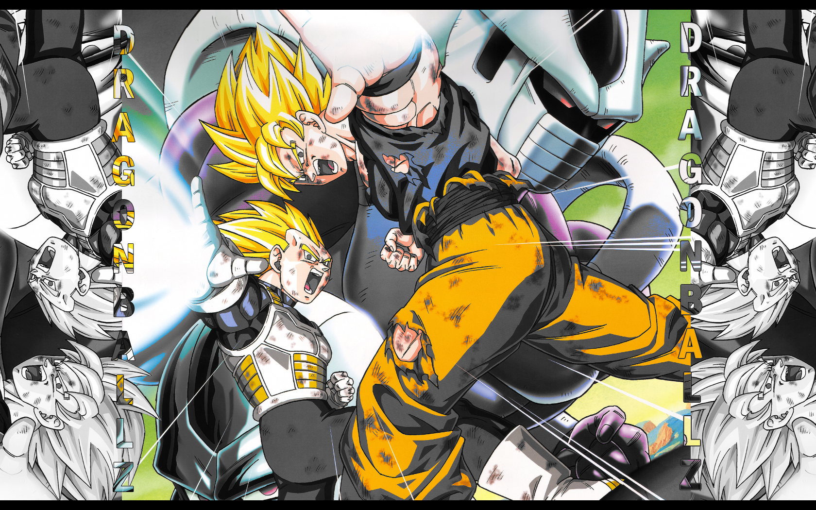 Wallpaper HD de dragon ball z y Naruto shippuden   Taringa 1680x1050