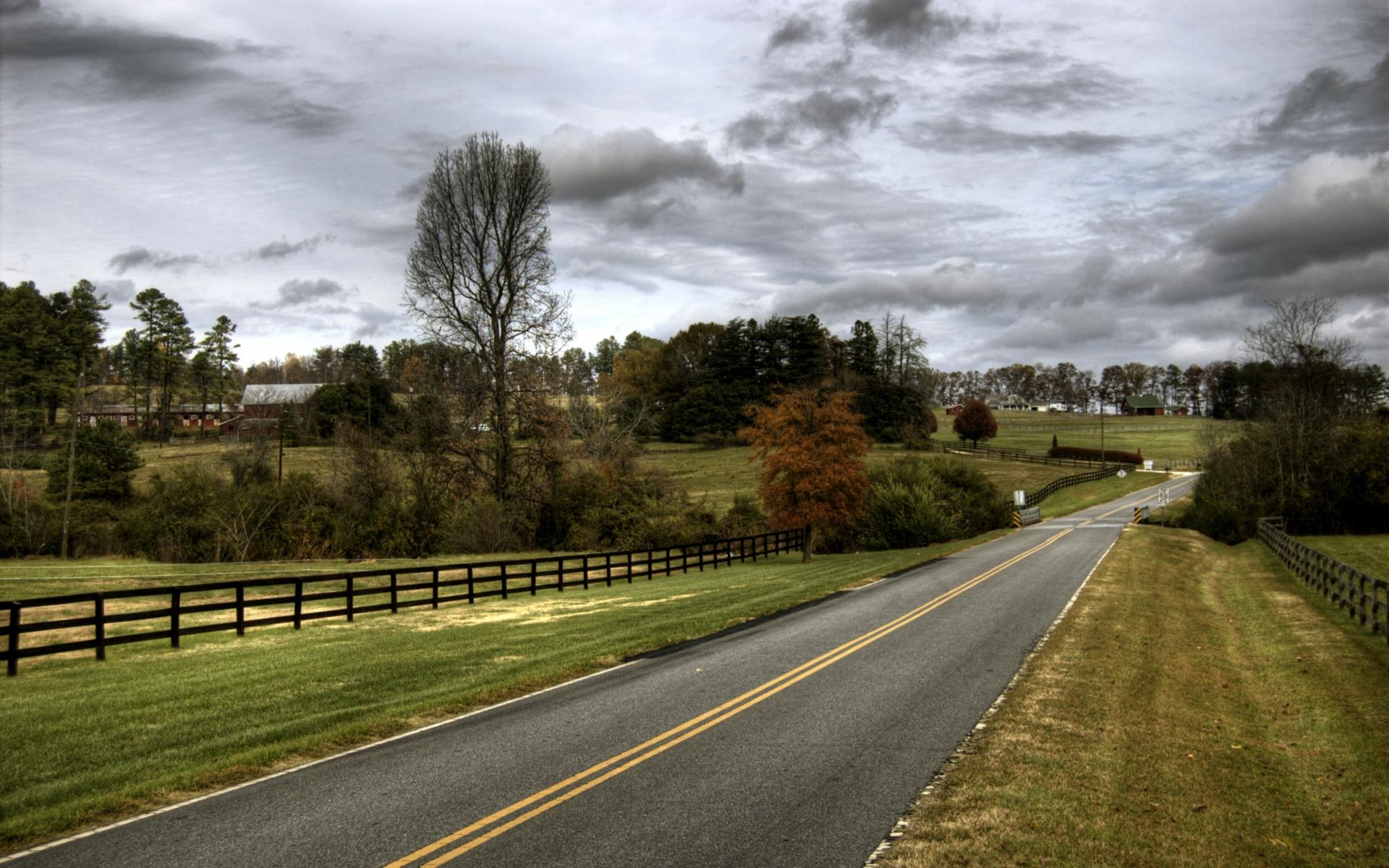 Country road USA wallpapers and images   wallpapers pictures photos 1920x1200