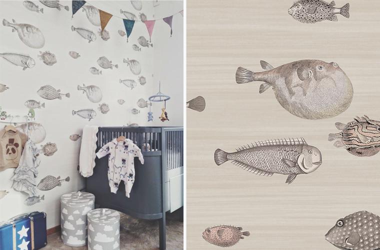 Cole And Son Acquario Wallpaper