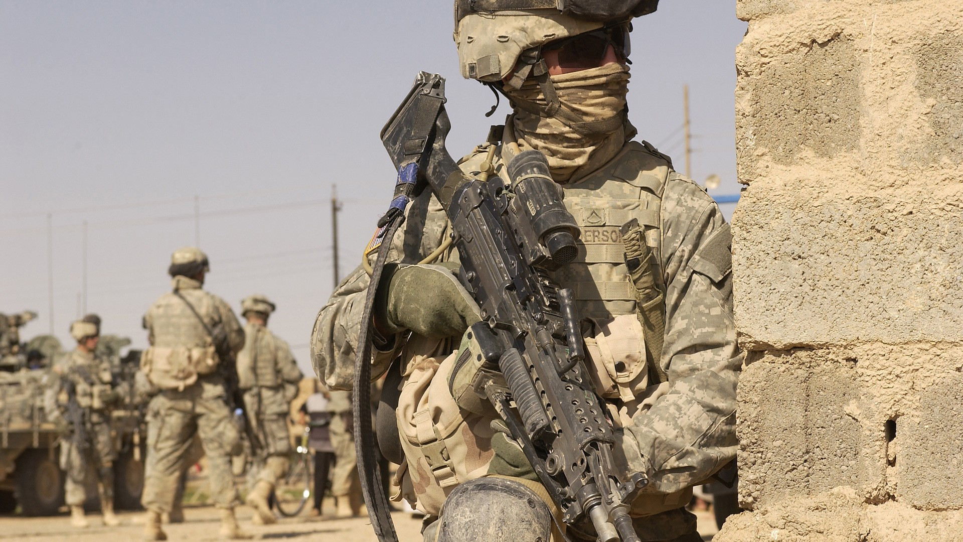 soldiers guns military Afghanistan US Army wars wallpaper background