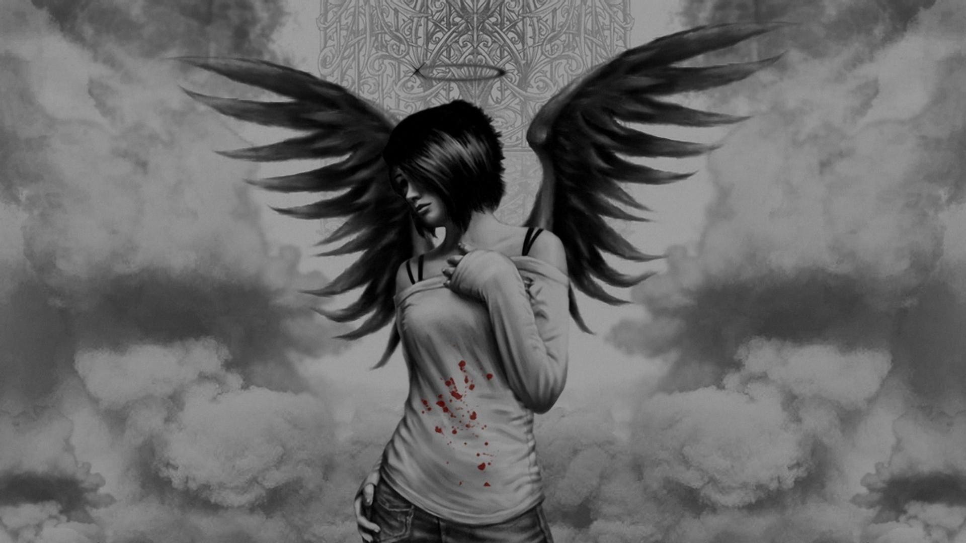 HD Fallen Angel Wallpaper For Desktop Live Fallen Angel 1920x1080