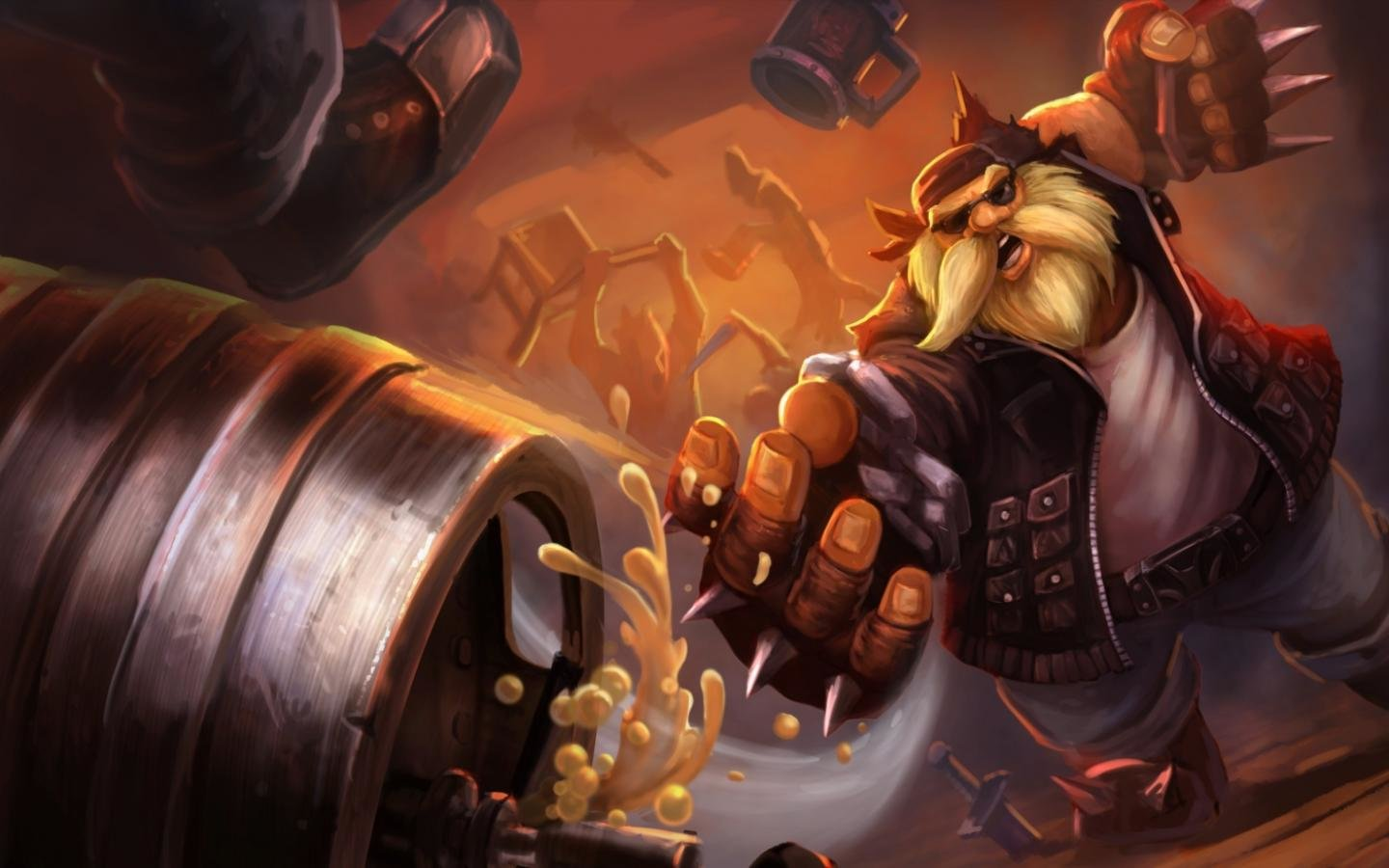 download Gragas League Of Legends wallpaper ID171496 hd 1440x900