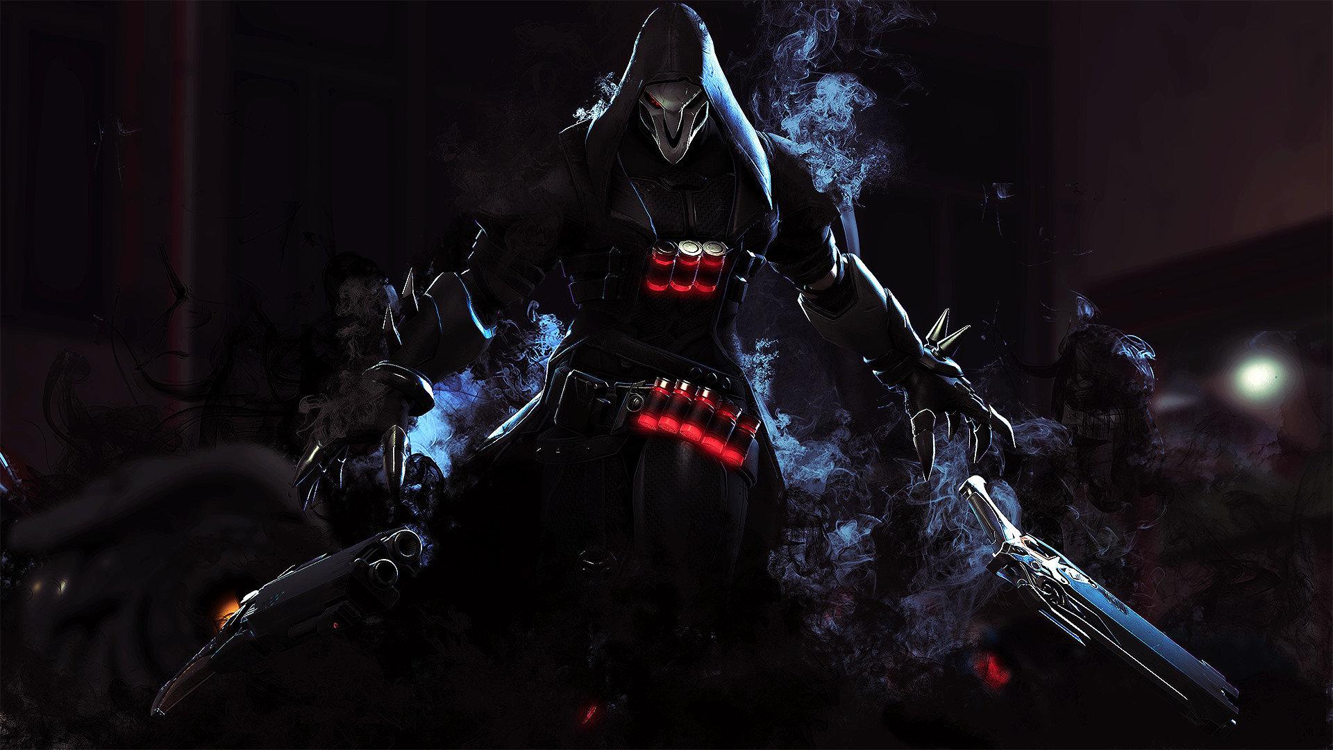 Reaper Overwatch wallpapers 1920x1080 Full HD 1080p desktop 1920x1080
