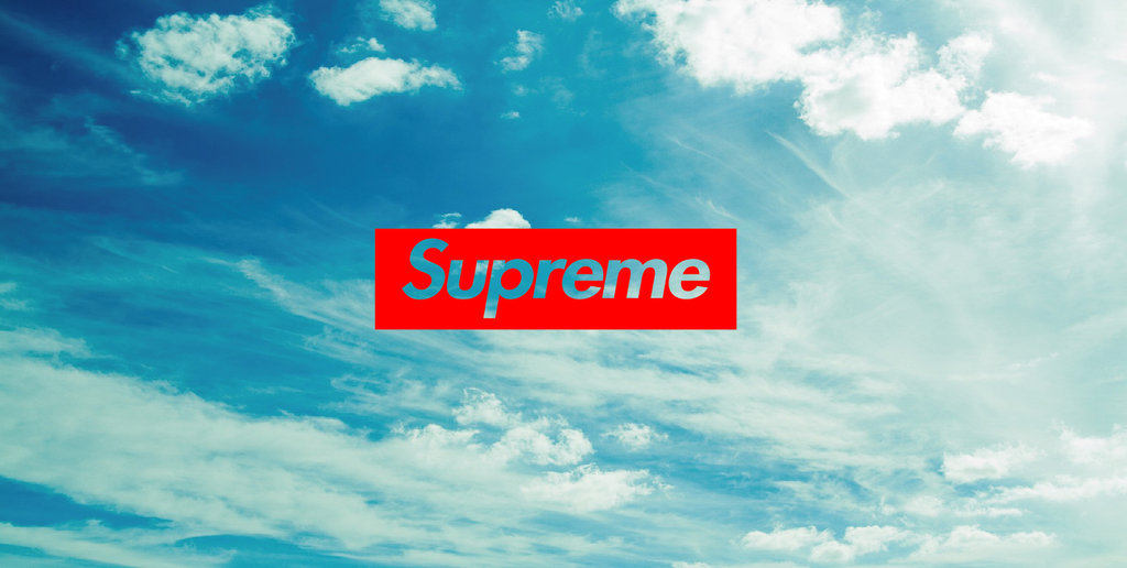 Supreme Wallpaper 1024x516
