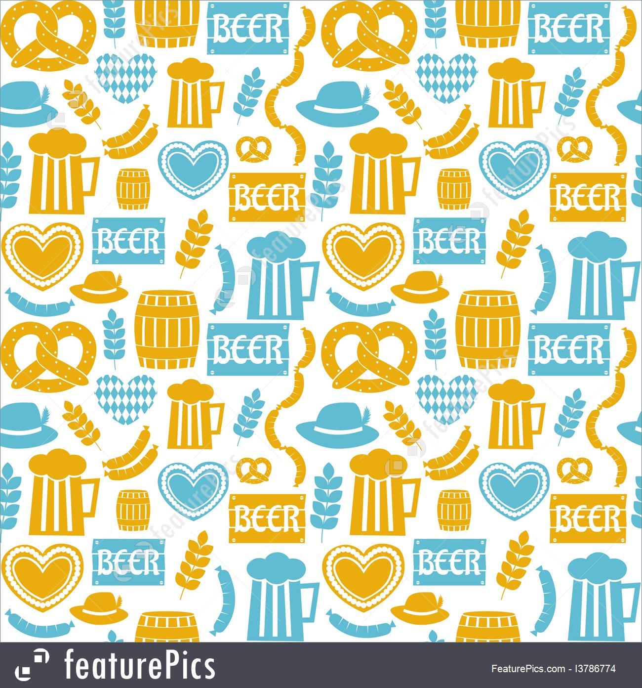 Holidays Oktoberfest Background   Stock Illustration I3786774 at 1300x1392