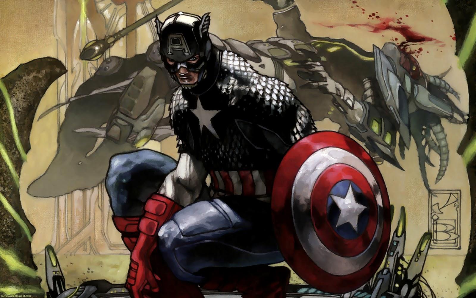 Comic Wallpapers Captain America   Comic Wallpaper 1600x1000