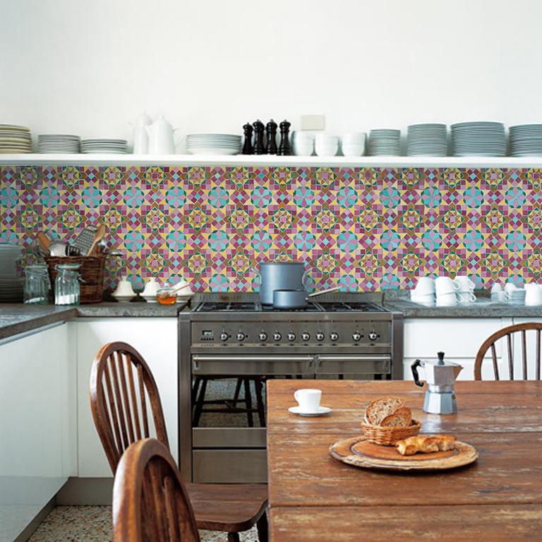 More inspiration with Kitchen Walls backsplash wallpaper 768x768