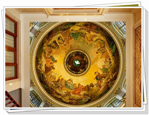 murals wallpaper large mural Renaissance painting ceiling murals 625x483