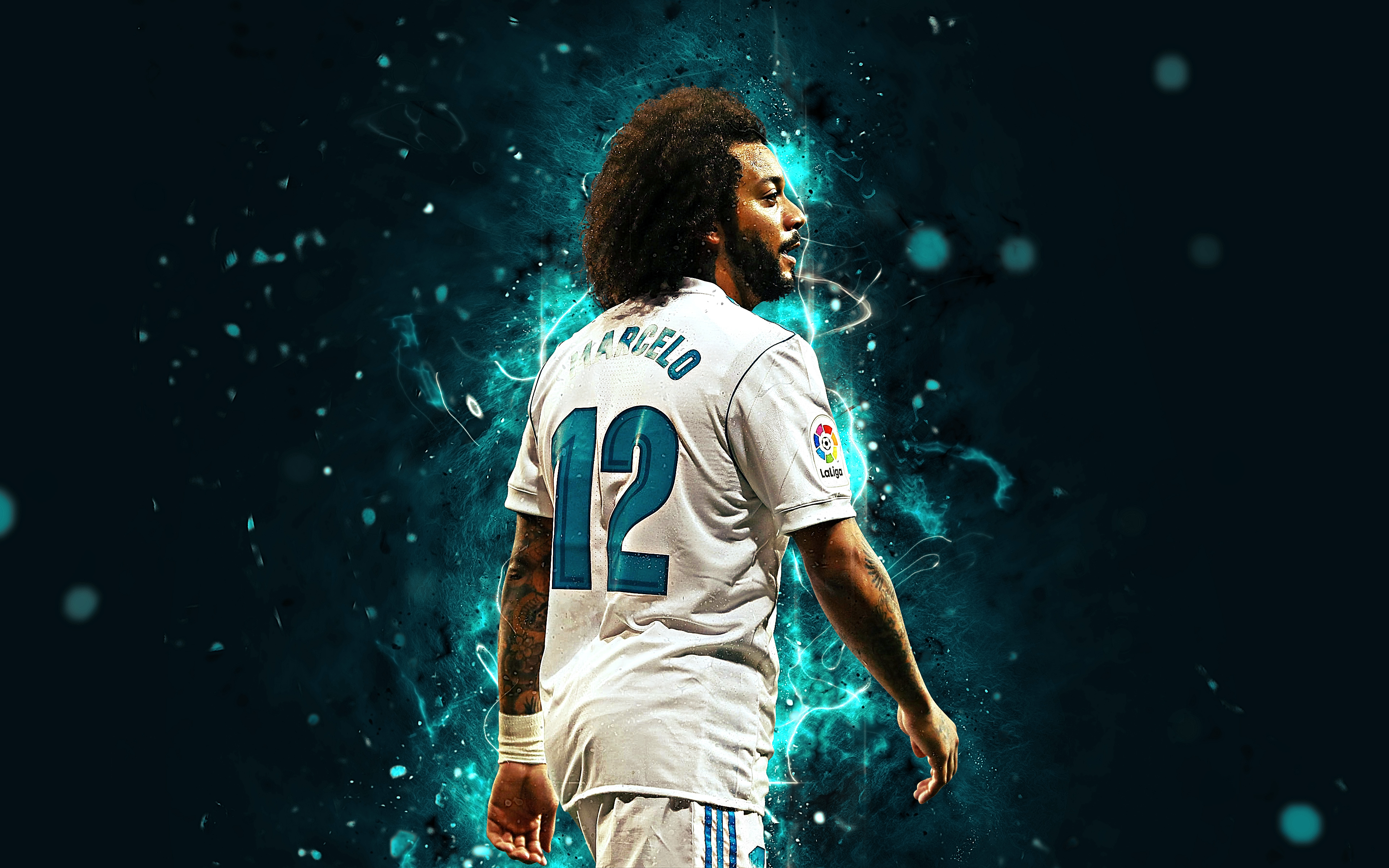 Marcelo   Real Madrid 4k Ultra HD Wallpaper Background Image 3840x2400
