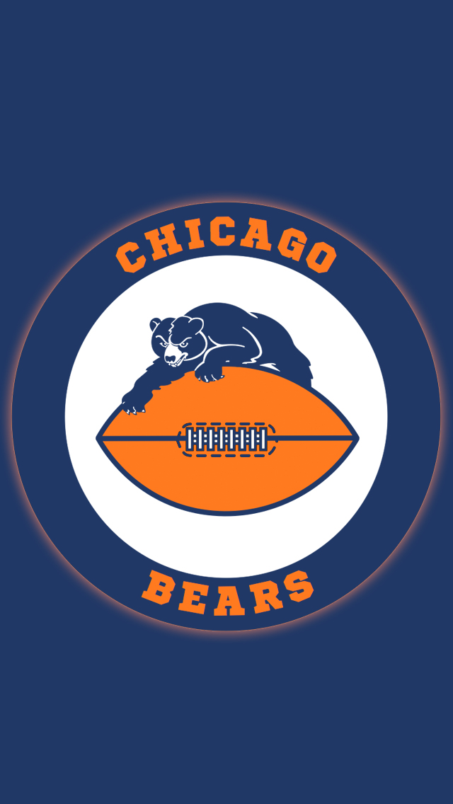 Chicago Bears iPhone 5 Wallpaper 640x1136 640x1136