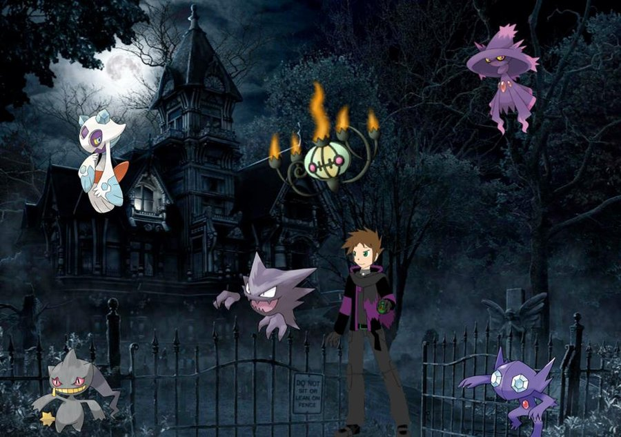 All Ghost Pokemon Ghost type pokemon team by 900x633