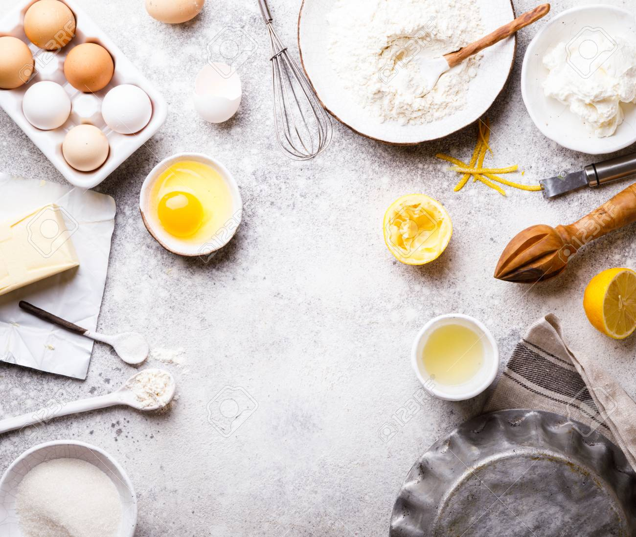 Baking Background Food Accessories Ingredients Variety For 1300x1098