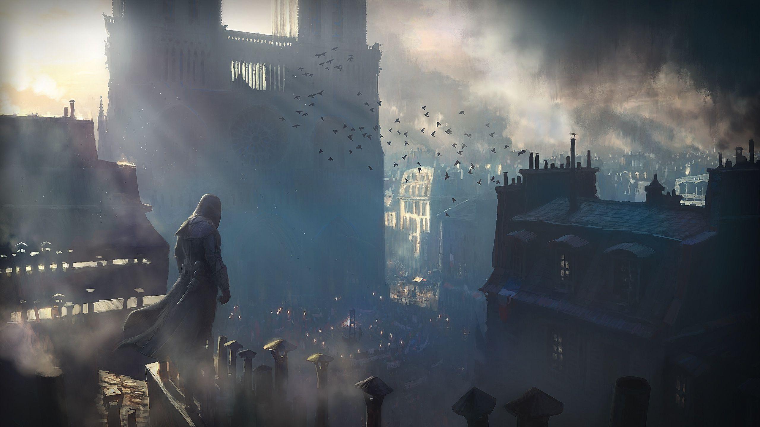 Assassins Creed Unity wallpaper 32344 2560x1440