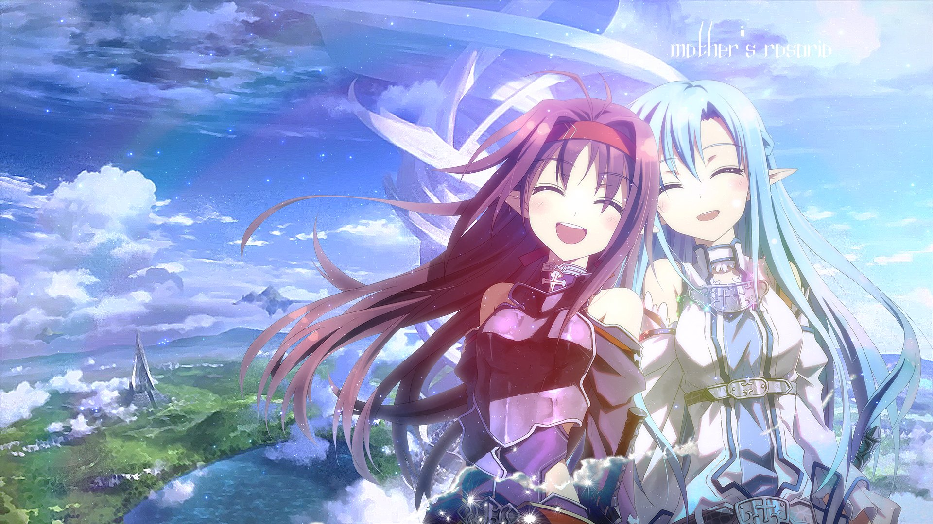 Asuna and Yuuki HD Wallpaper Background Image 1920x1080 ID 1920x1080