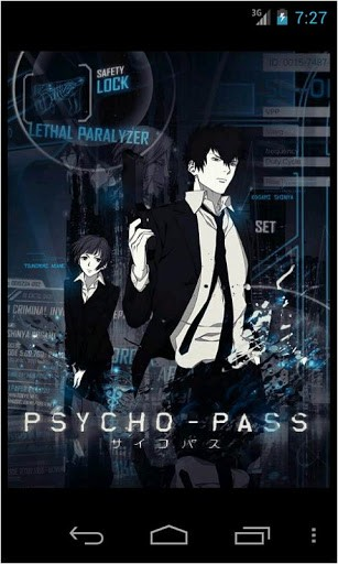 Psycho Pass Wallpapers for Android by Just For Fun   Appszoom 307x512