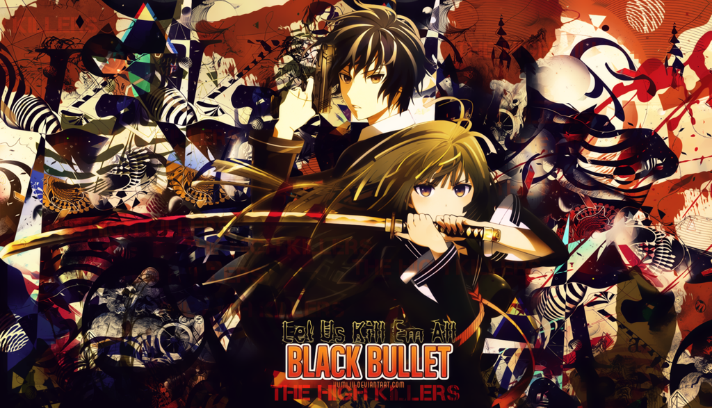 Wallpaper Black Bullet1 [The High Killers]Version1 by Yumijii on 1024x587