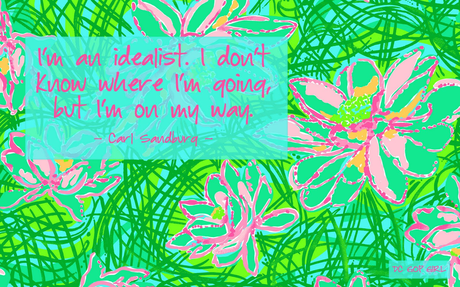 Lilly Pulitzer Quotes Wallpaper QuotesGram 1600x1000