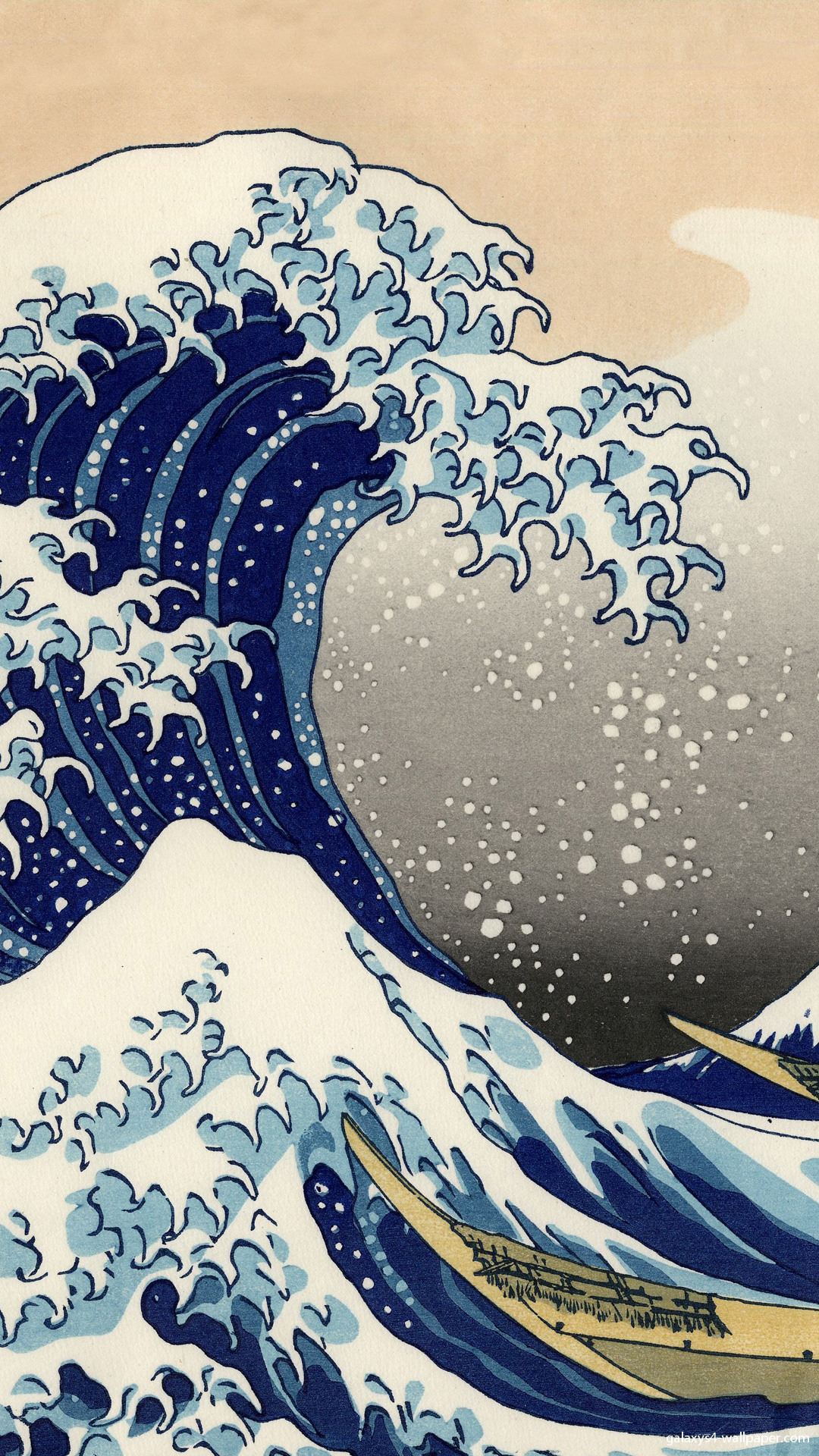 Hokusai Katsushika Wallpaper 01 Pictures 1080x1920