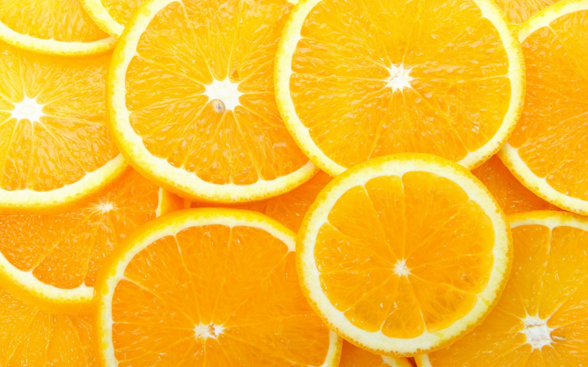 Orange Slices Wallpaper Fruits Nature Wallpapers in jpg format for 1920x1200