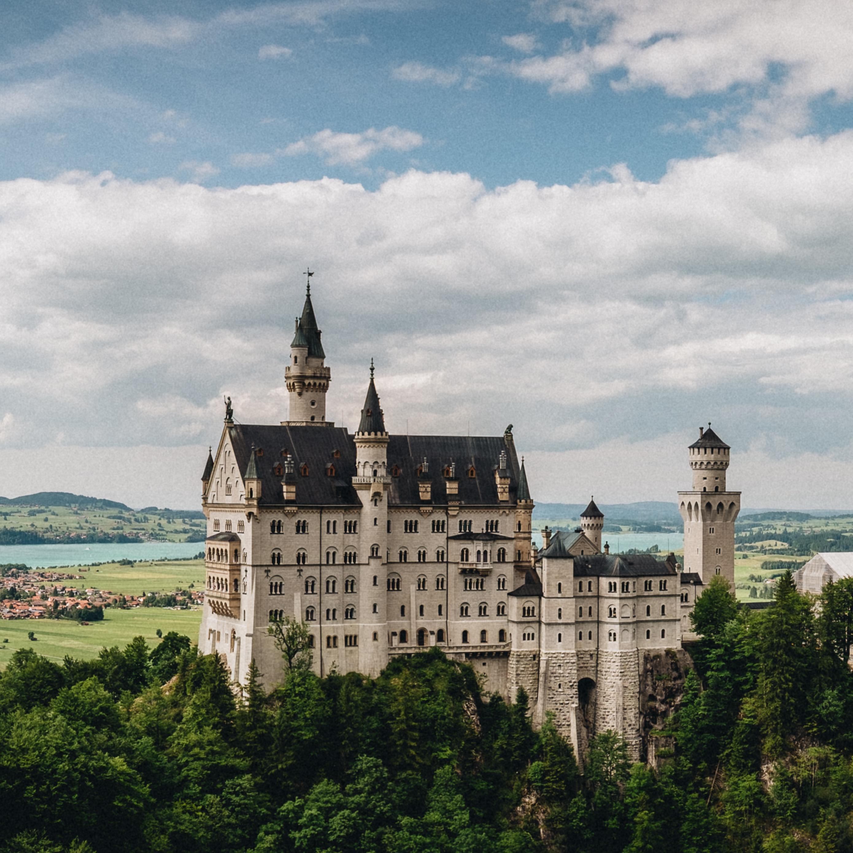Download wallpaper 2780x2780 castle neuschwanstein bavaria 2780x2780
