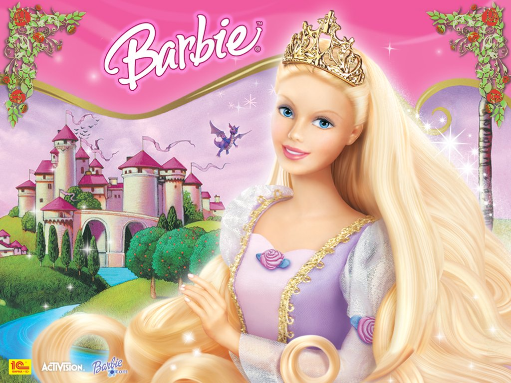 Cute Barbie Dolls Wallpaper ImageBankbiz 1024x768