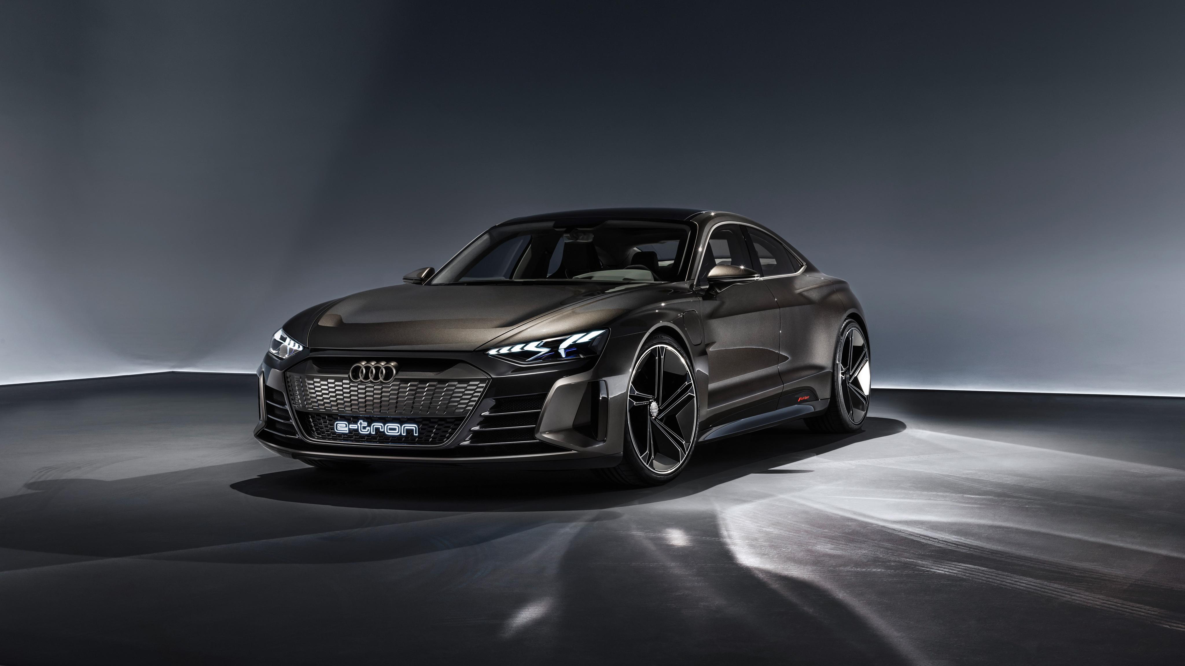 Audi e tron GT Concept 2019 4K Wallpapers HD Wallpapers 4096x2304