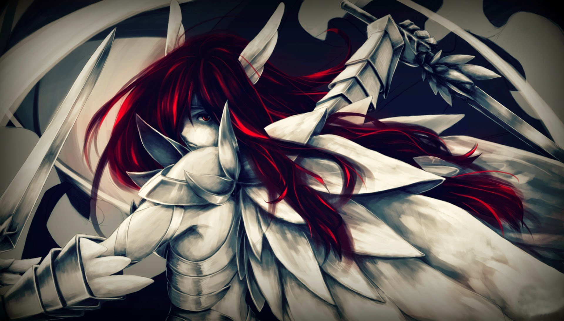 Fairy Tail Erza Wallpaper Hd Erza scarlet is an s class 1920x1093