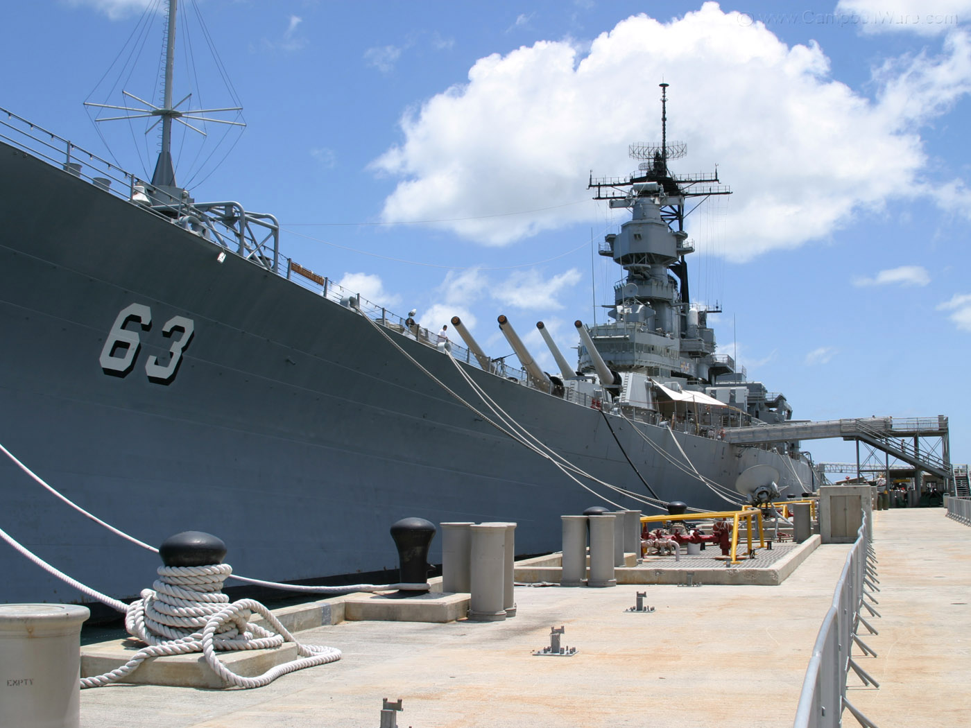 2005 05 0748 The USS Missouri Pearl Harborjpg 1400x1050