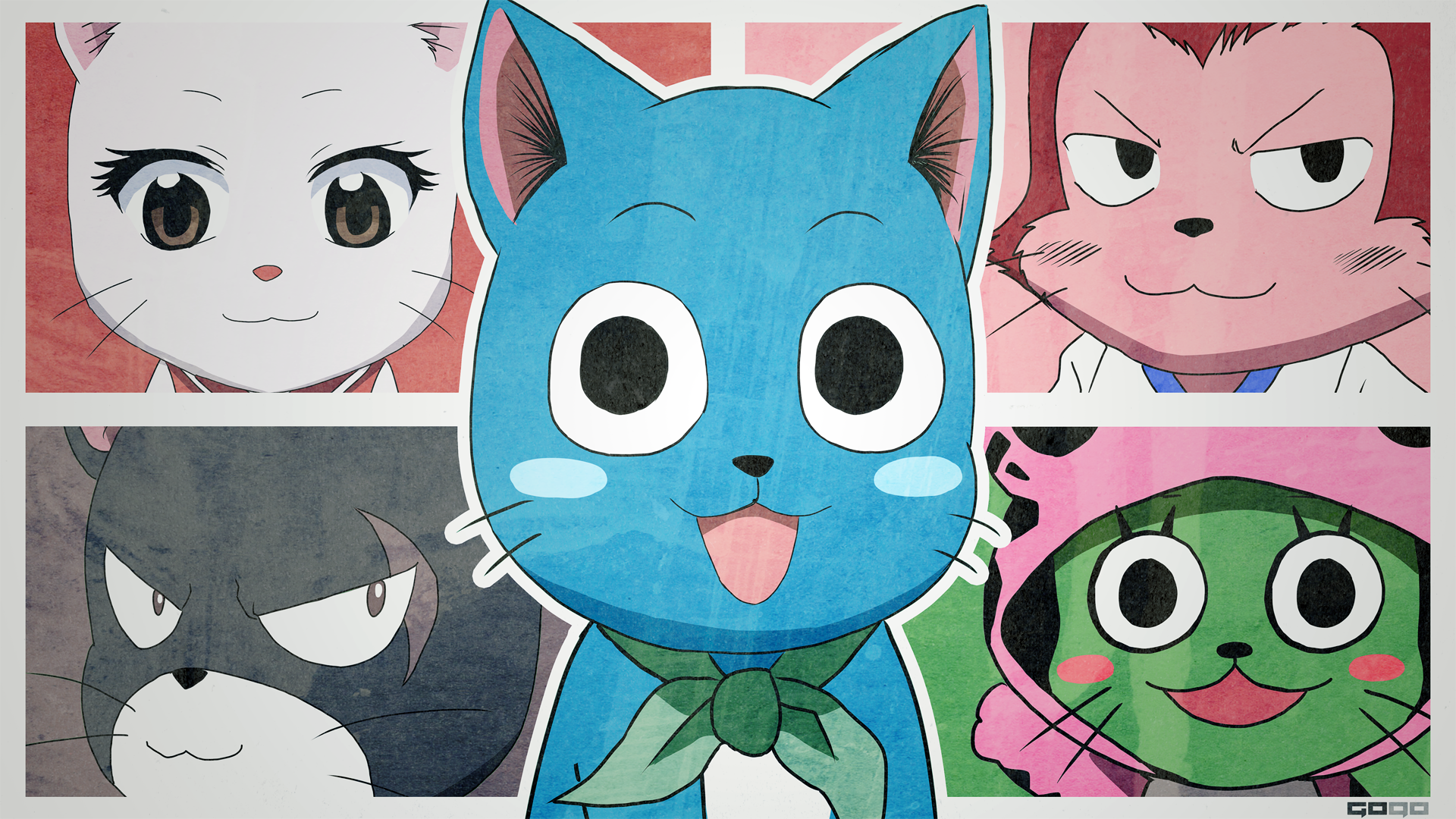 Fairy Tail Happy Wallpapers Picture Is Cool Wallpapers Fairy 1920x1080