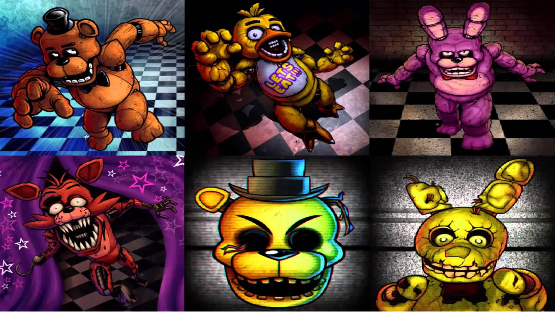 Free Download Download Top 10 Five Nights At Freddys Wallpaper