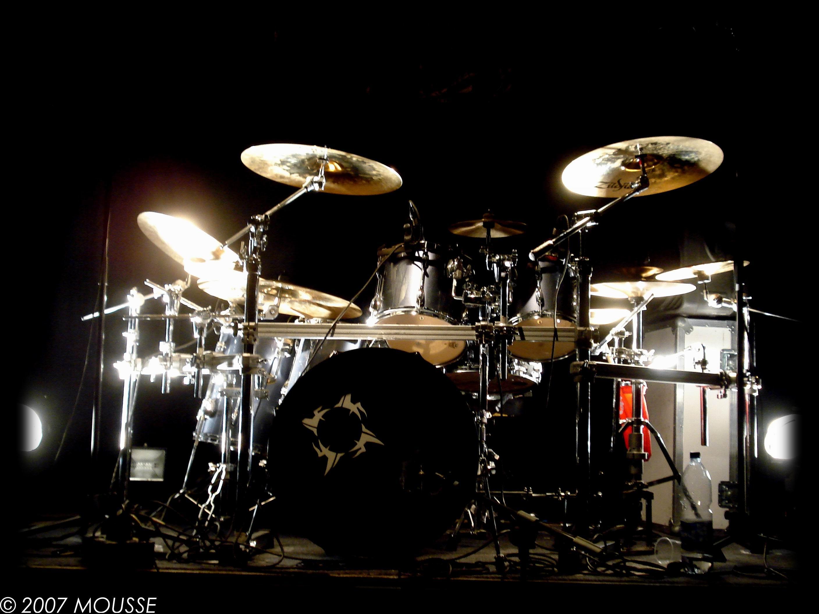 Drum Kit Wallpaper Pro Live