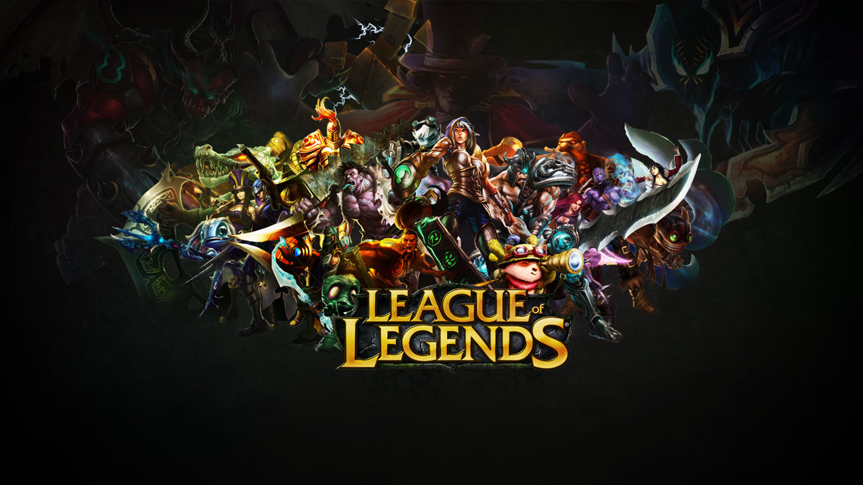 league of legends wallpapers lol desktop backgrounds - HD1366×768