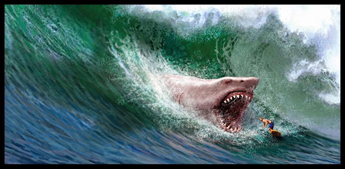 Desktop Backgrounds Megalodon Sharks Desktop Megalodon Photo 1130x555