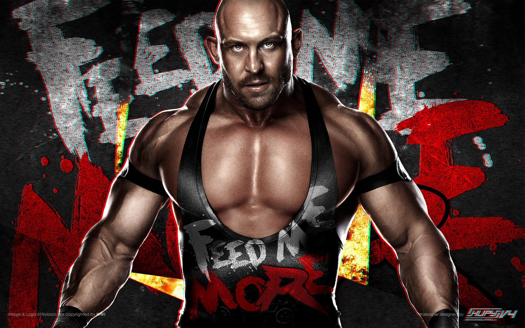 HIAC WWE Championship CM Punkc vs Ryback wallpaper 1680x1050