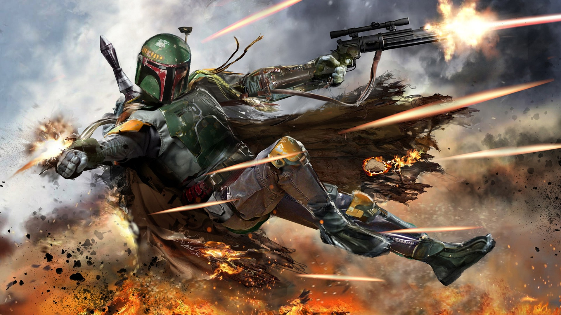 38 Star Wars Boba Fett Background On Wallpapersafari