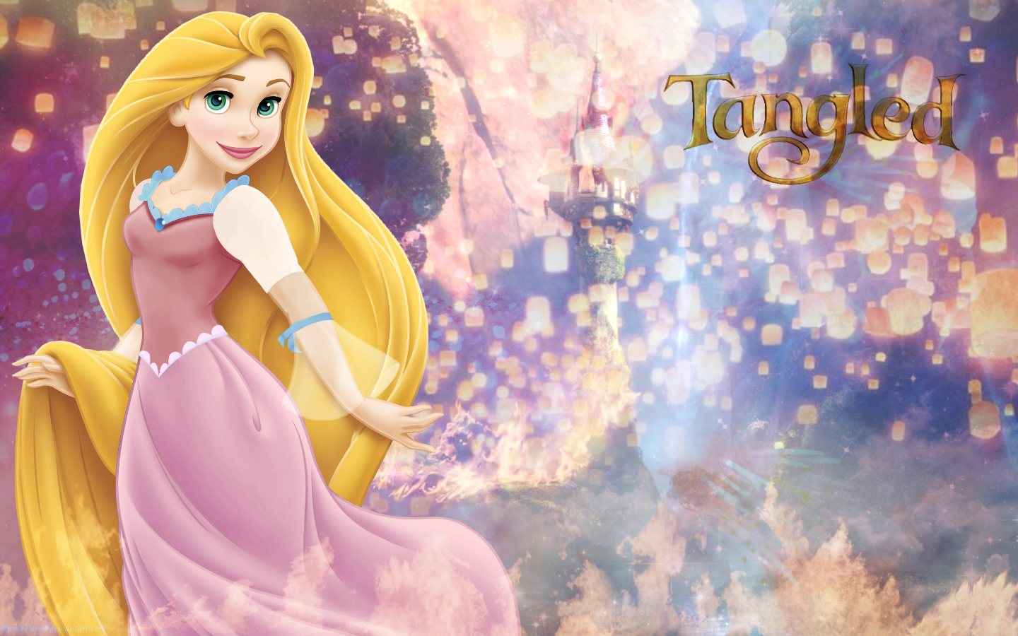 Tangled images Rapunzels Tower HD wallpaper and background photos 1440x900
