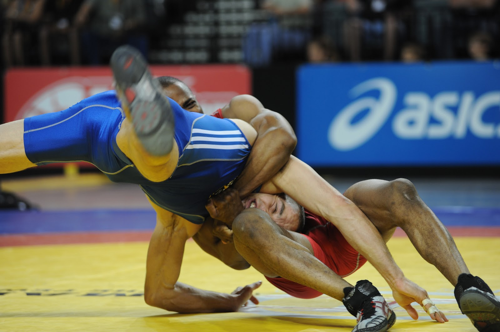 Wrestling mat wallpapers
