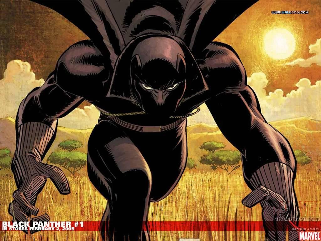 Black Panther Comic Wallpaper: Black Panther Marvel Wallpaper