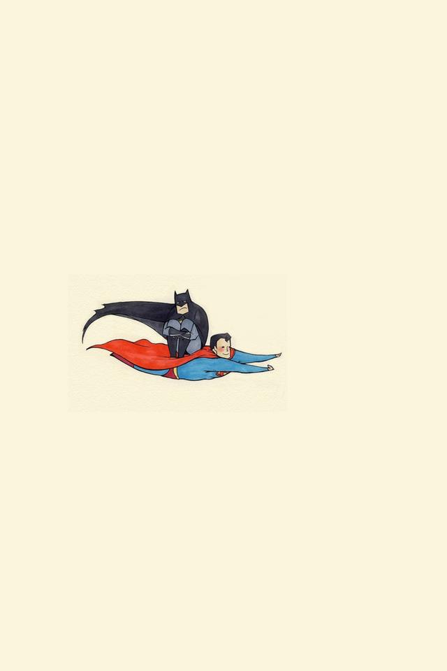 Batman v Superman iPhone Wallpaper HD 640x960