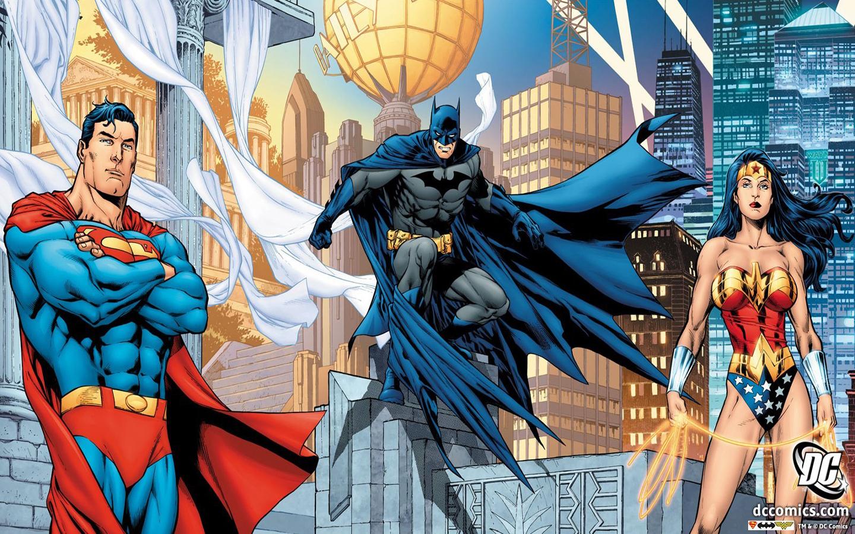 Superman And Wonder Woman Comic