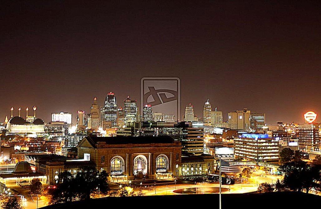 Kansas City Skyline Desktop Wallpaper 1029x671