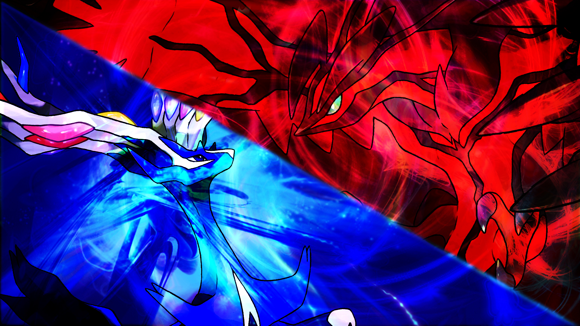 Pokemon X and Y background by Hyp3d 1920x1080