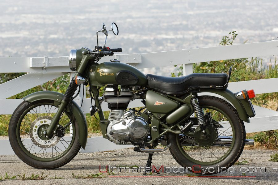 Royal Enfield Bullet C5 Classic 500 Military   The 900x598