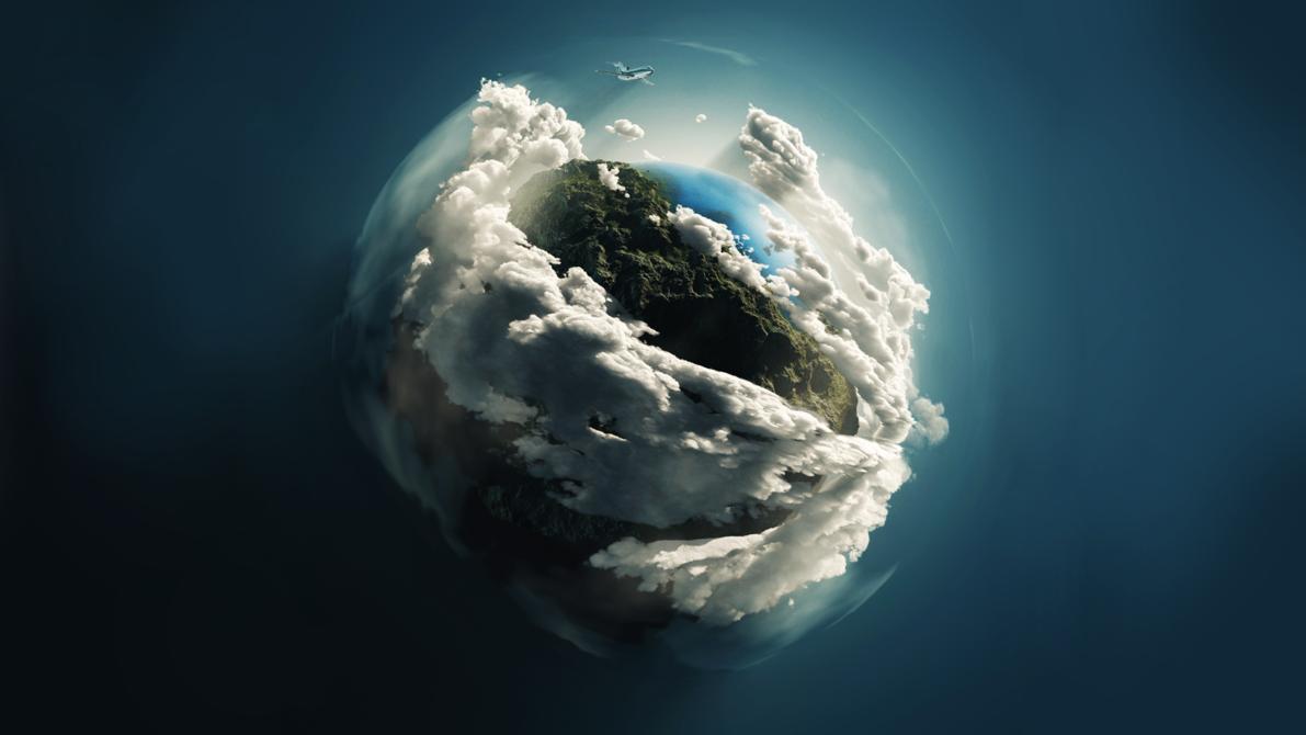 Earth Tierra Wallpaper HD by krysis08 1191x670