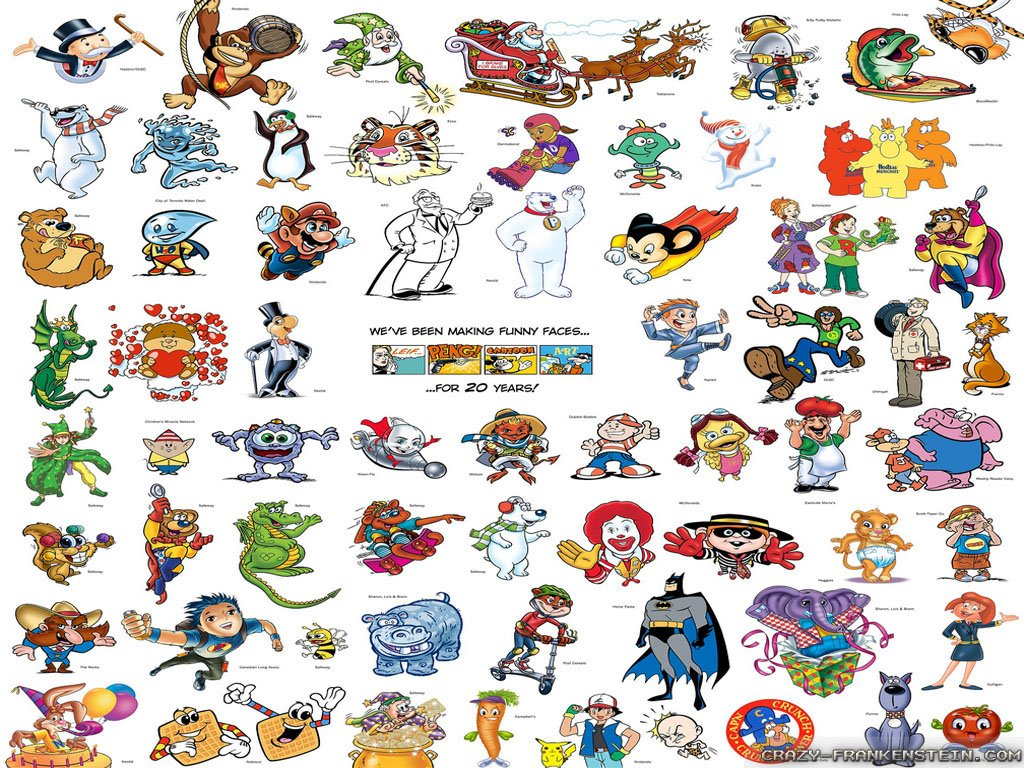 Cartoon Characters Of The 80s : S cartoon wallpaper wallpapersafari