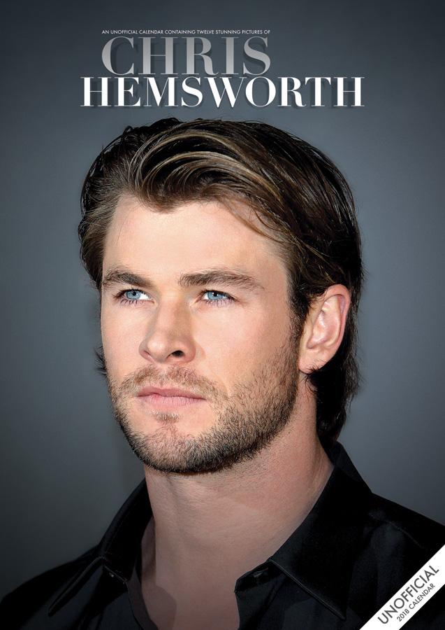 Chris Hemsworth Unofficial A3 Calendar   2018 A3 Wall 637x900